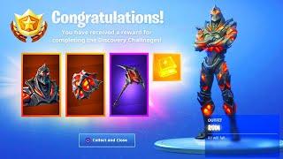 The New RUIN REWARDS! (New Fortnite Ruin Pickaxe)