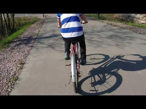 Обзор +  Тест велосипеда Wels bike