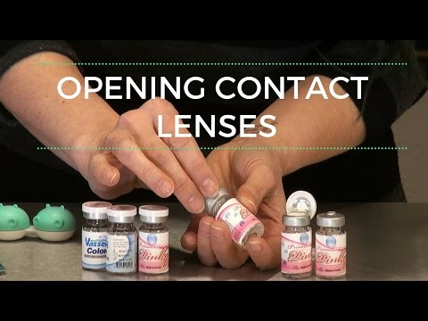 How to Open Contact Lens Bottles - DoctoredLocks.com
