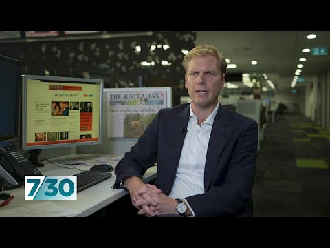 Satirist Mark Humphries Attempts To Clarify News Corp's Position On Climate Change   7.30
