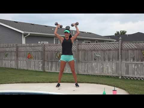 CARDIO, Shoulders, Triceps, Biceps, LEGS and CORE!!!