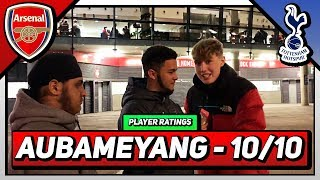 "Arsenal 4-2 Tottenham | ""10 OUT 10 FOR AUBAMEYANG?!?!"" 