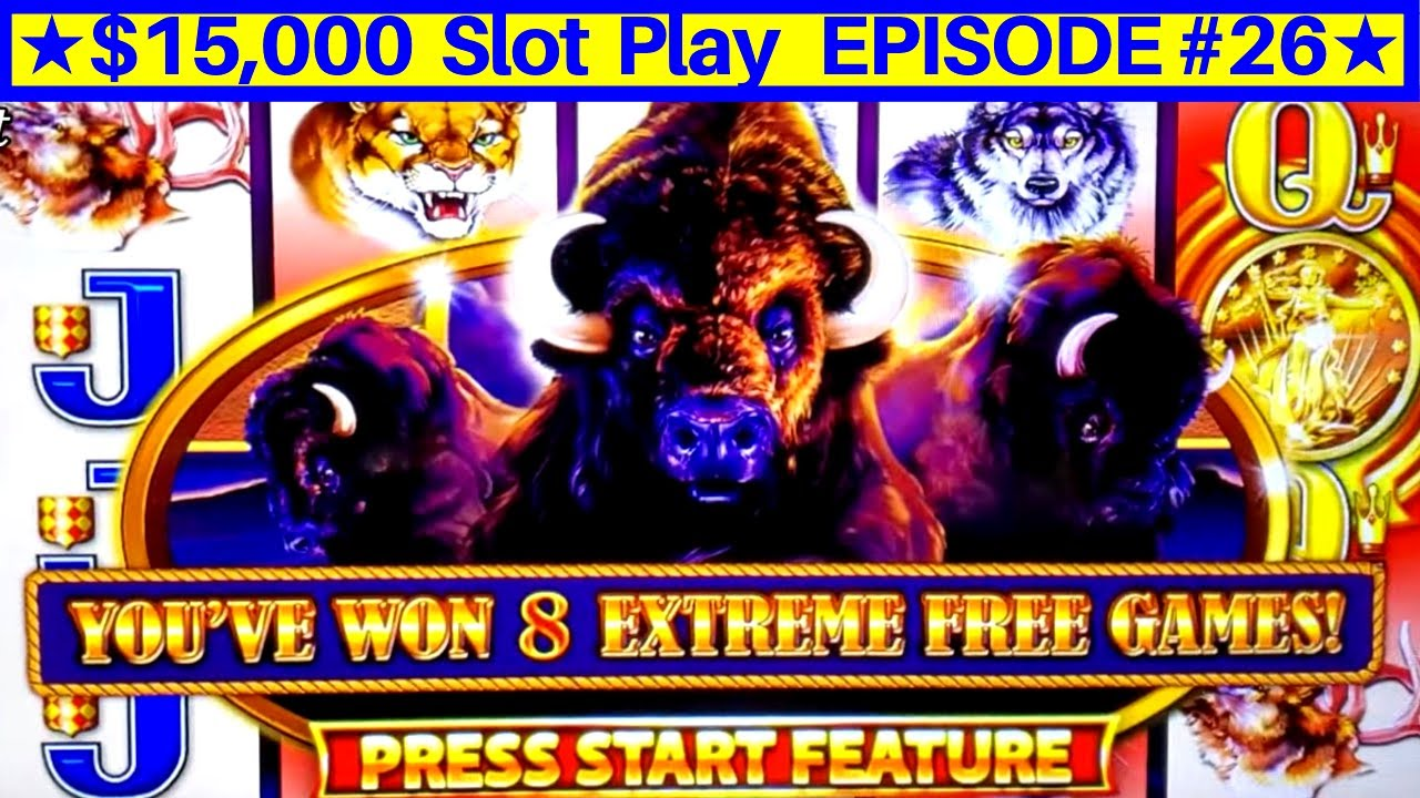 Wonder 4 Boost Buffalo Slot Max Bet ★SUPER FREE GAMES ...