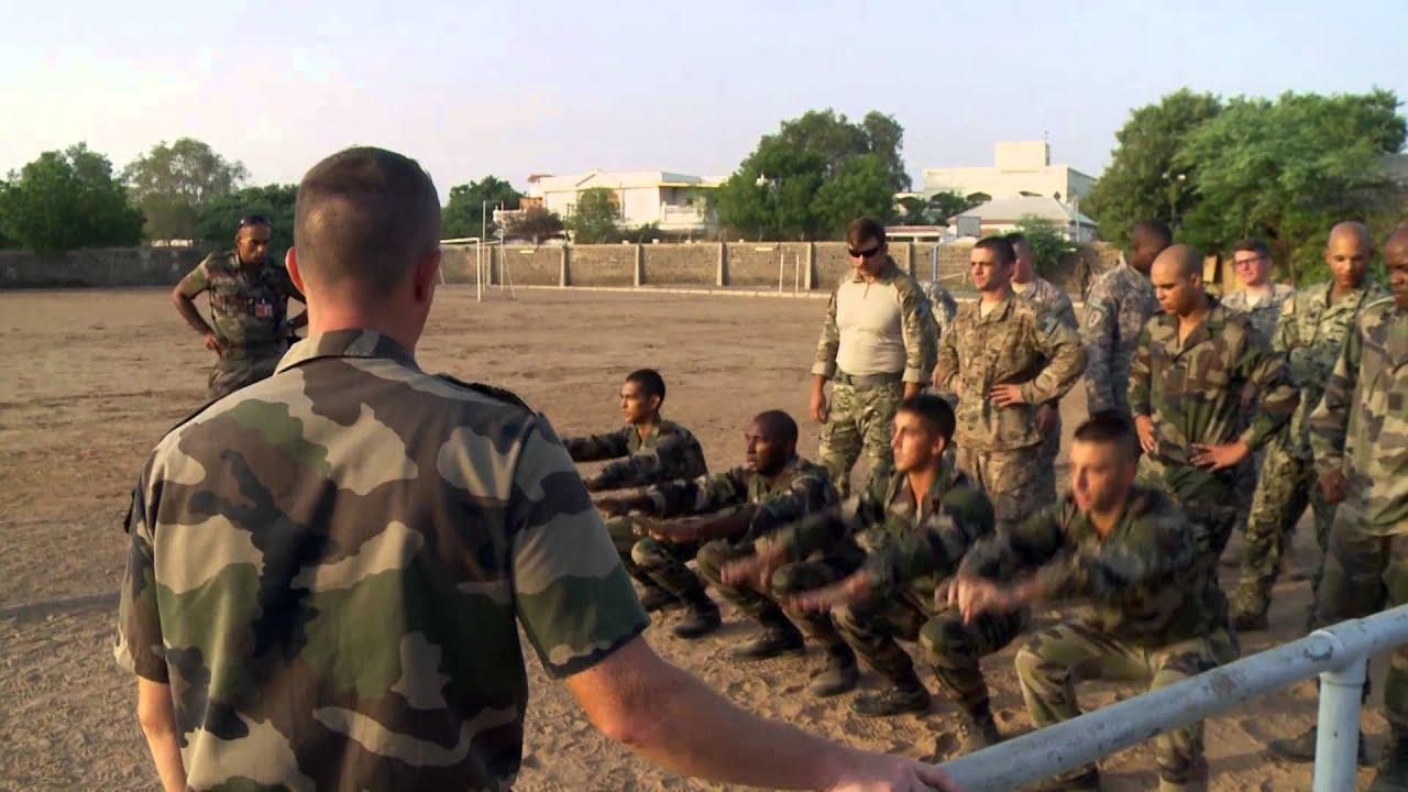 U.S. Soldiers • French Desert Commando Course • Djibouti
