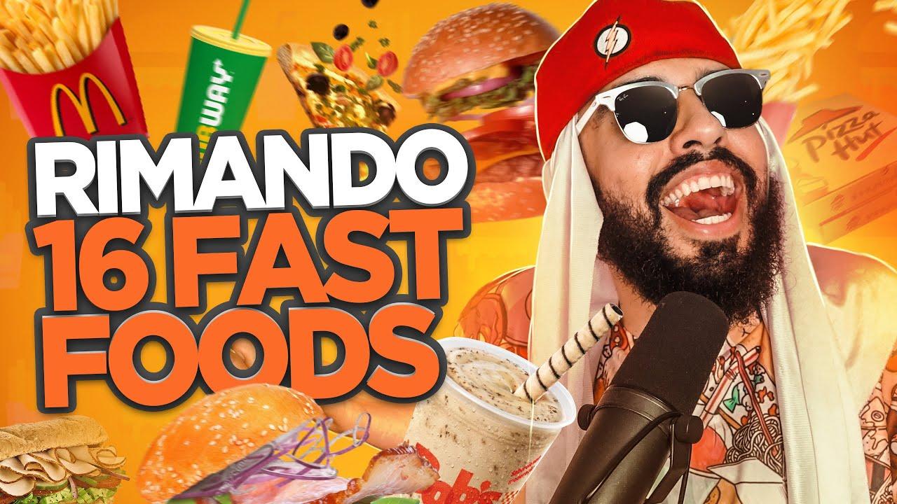RAP COM OS MAIORES FAST-FOODS DO BRASIL ♫
