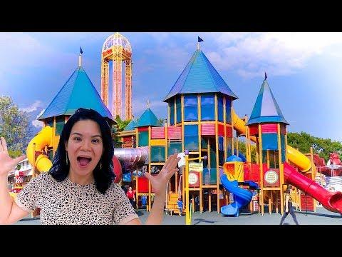 Un DÍA en el SUPER PARQUE de JUEGOS | AnaNana Toys