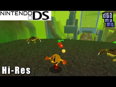 Pac-Man World 3 - Nintendo DS Gameplay High Resolution (DeSmuME)