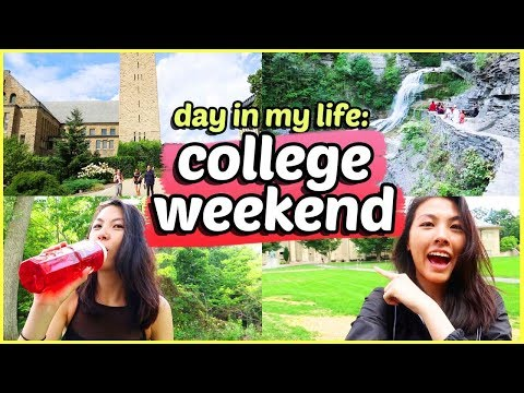 🏛️A Day in my Life at Cornell University: Weekend Edition 2018 | Katie Tracy