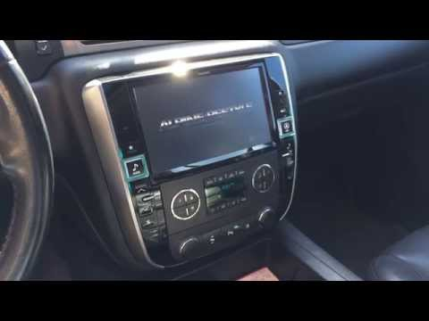 Alpine X009GM Installed Plug and Play 9 inch Navigation Upgrade 2007-2013 Chevy and GMC Trucks