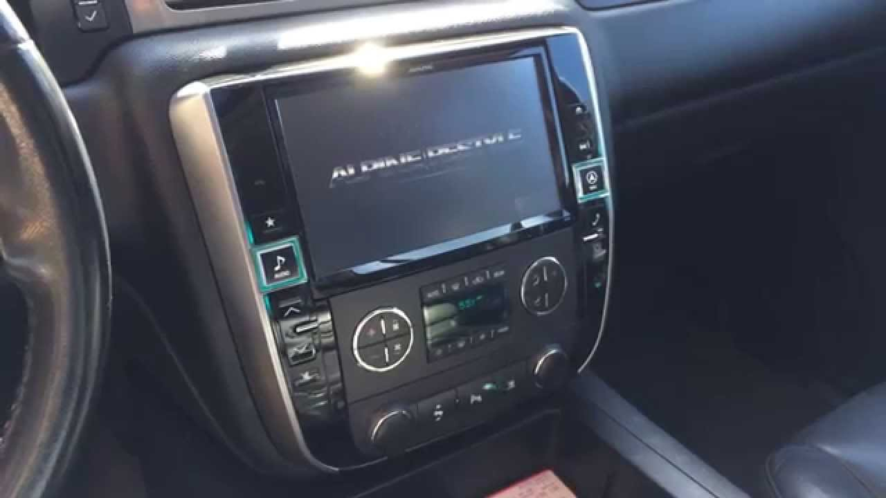 Alpine X009gm Installed Plug And Play 9 Inch Navigation