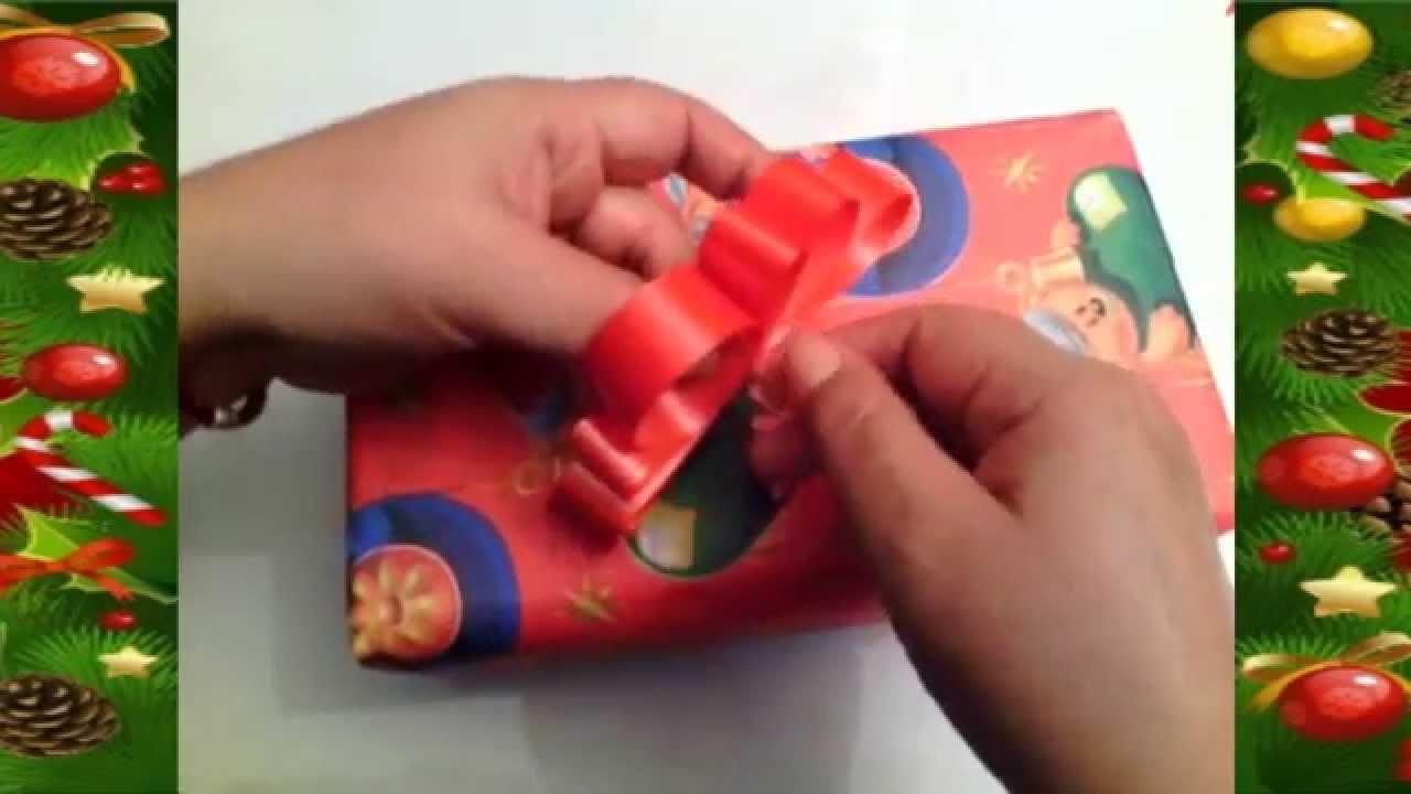 Como hacer un mo o de cinta para regalos how to make an - Cinta para regalo ...