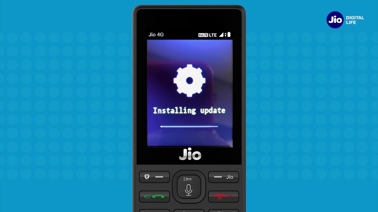 Jiocare how to upgrade jiophone software (kannada)   reliance.