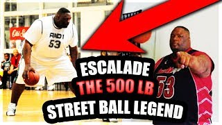 The 6'10 500LBS Street Ball LEGEND! The FATTEST Player Ever!? Troy 'ESCALADE' Jackson!