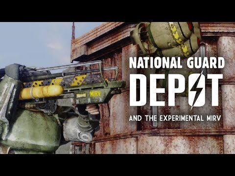 Keller Family 2: The National Guard Depot - Plus, the Experimental MIRV - Fallout 3 Lore