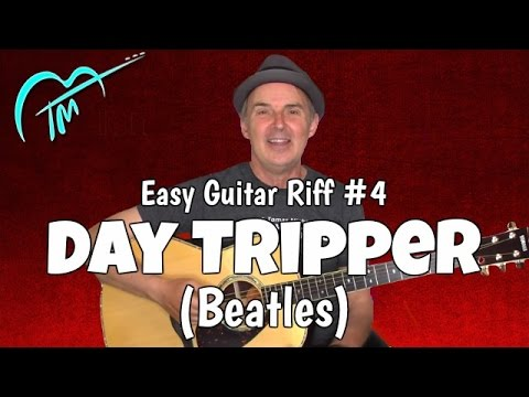 Must Know Acoustic Guitar Riff #4: Day Tripper (Beatles)