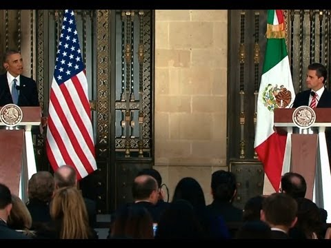 President Obama Holds a Press Conference with President Peña Nieto of Mexico