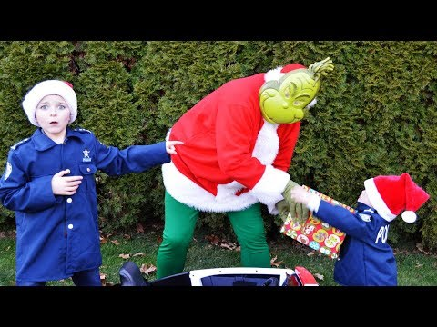 Download Youtube: The fake present featuring Grinch holiday Christmas ruined by silly funny kids video