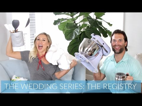 THE WEDDING SERIES: THE REGISTRY