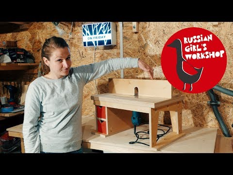 Build a Benchtop ROUTER TABLE | DIY
