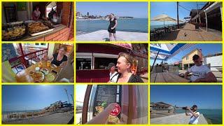Железный порт 2020, набережная ожила, цены на еду, отдых на море