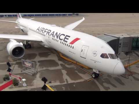 Air France Boeing 787-9 Dreamliner delivery from Boeing Charleston facility