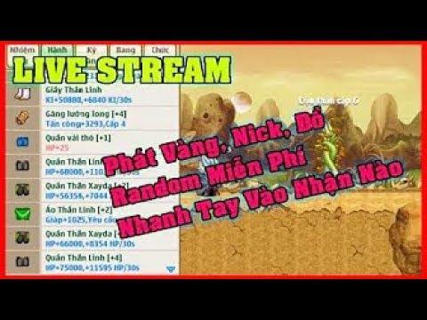 Phát Nick Bông Tai + Tặng Hộp Quà VIP Săn Nick - Vàng - Ngọc   Ngọc Rồng Online   NRO
