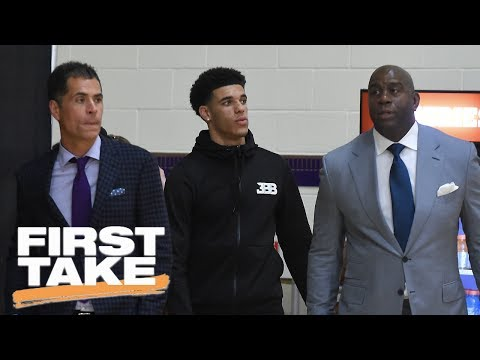 Can Lonzo Ball Carry The Lakers?   First Take   June 29, 2017