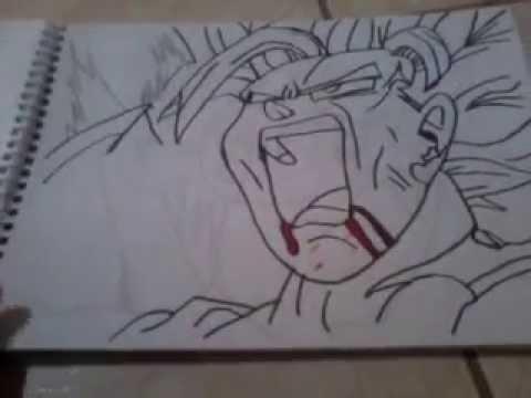 Meus Desenhos De Dragon Ball Z E Naruto Youtube