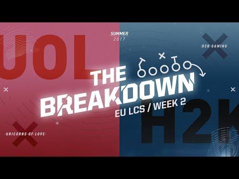 The Breakdown with Zirene: Baron throws H2K (EU LCS Summer Week 2)