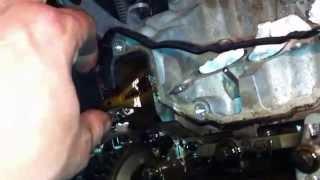BMW wymiana rozrzadu N47 ENGINE CHAIN n47