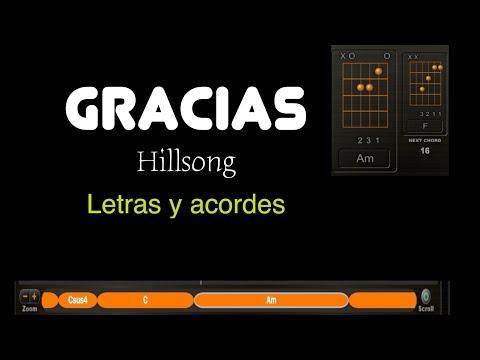 Gracias (Hillsong y Alex Campos). Tutorial Guitarra.