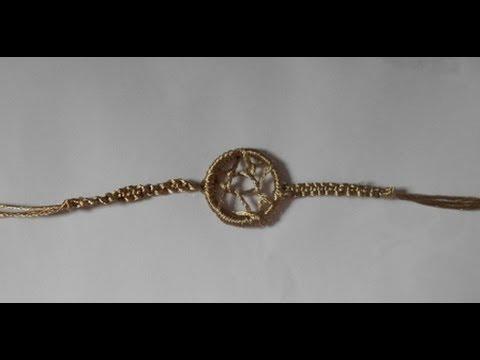 Diy How To Make A Dream Catcher Bracelet