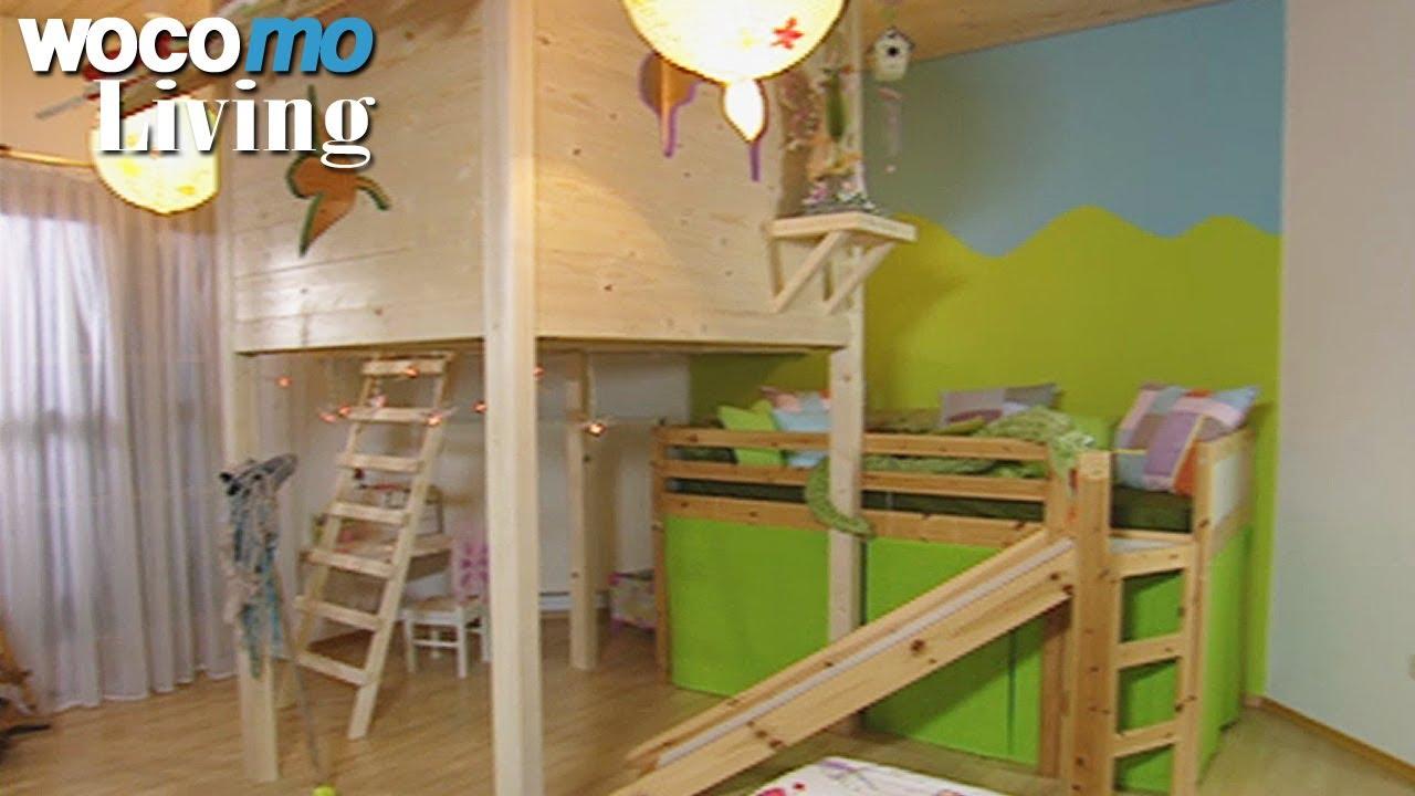 baumhaus f rs kinderzimmer bauen tapetenwechsel br staffel 9 folge 3 youtube. Black Bedroom Furniture Sets. Home Design Ideas