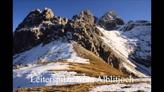 Autumn hike in the mountains (Leiterspitze, Alps) [1080p HD]