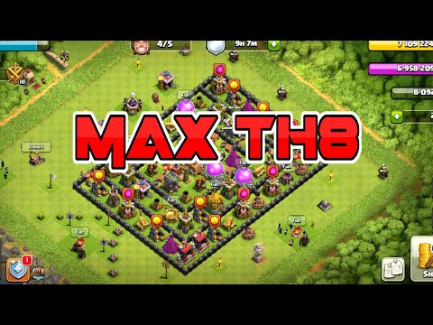Clash Of Clans | MAX TOWN HALL 8 BASE