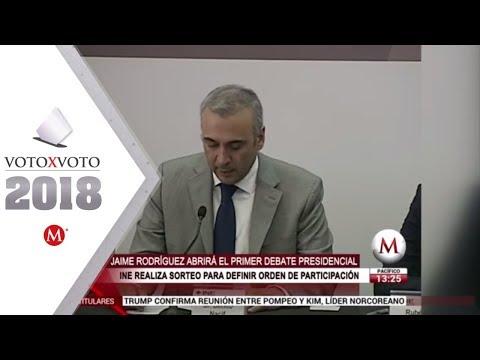 """""""El Bronco"""" abrirá el primer debate presidencial"""
