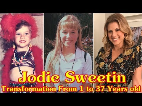 Jodie Sweetin transformation From 1 to 37 Years old
