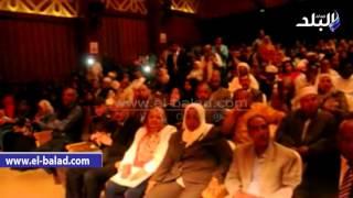 بالفيديو والصور.. محافظ أسوان يكرم الأمهات المثاليات بمشاركة 400 سيدة ورجل وشاب وفتاة