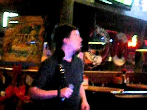 karaoke Robert sings the doors.