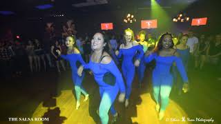 SHINES TOUCH Bachata Dance Performance At THE SALSA ROOM