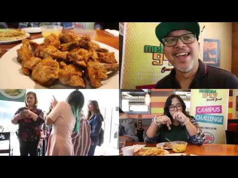 The 1st Mellow 94 7 and Chilis Spicy Wing Challenge (April 9, 2018)