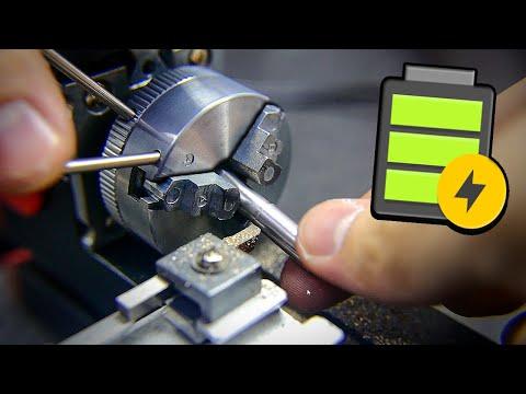 😂 Токарный на Батарейках - Доработки Станка Игрушки из Китая