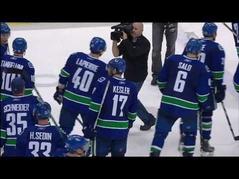 The Canucks Win the Presidents Trophy - 03.31.11 - HD