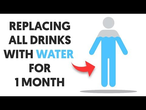 Here's What Happens When You Replace Your Drinks With Water for One Month