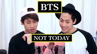 BTS - NOT TODAY MV REACTION (TWINS REACT)
