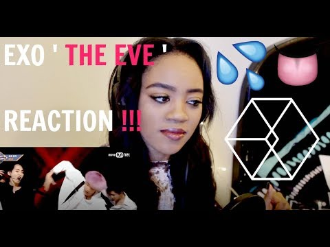 EXO THE EVE COMEBACK STAGE REACTION