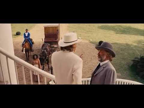 Django Unchained.Big Daddy and Bettina. Funny. About racism