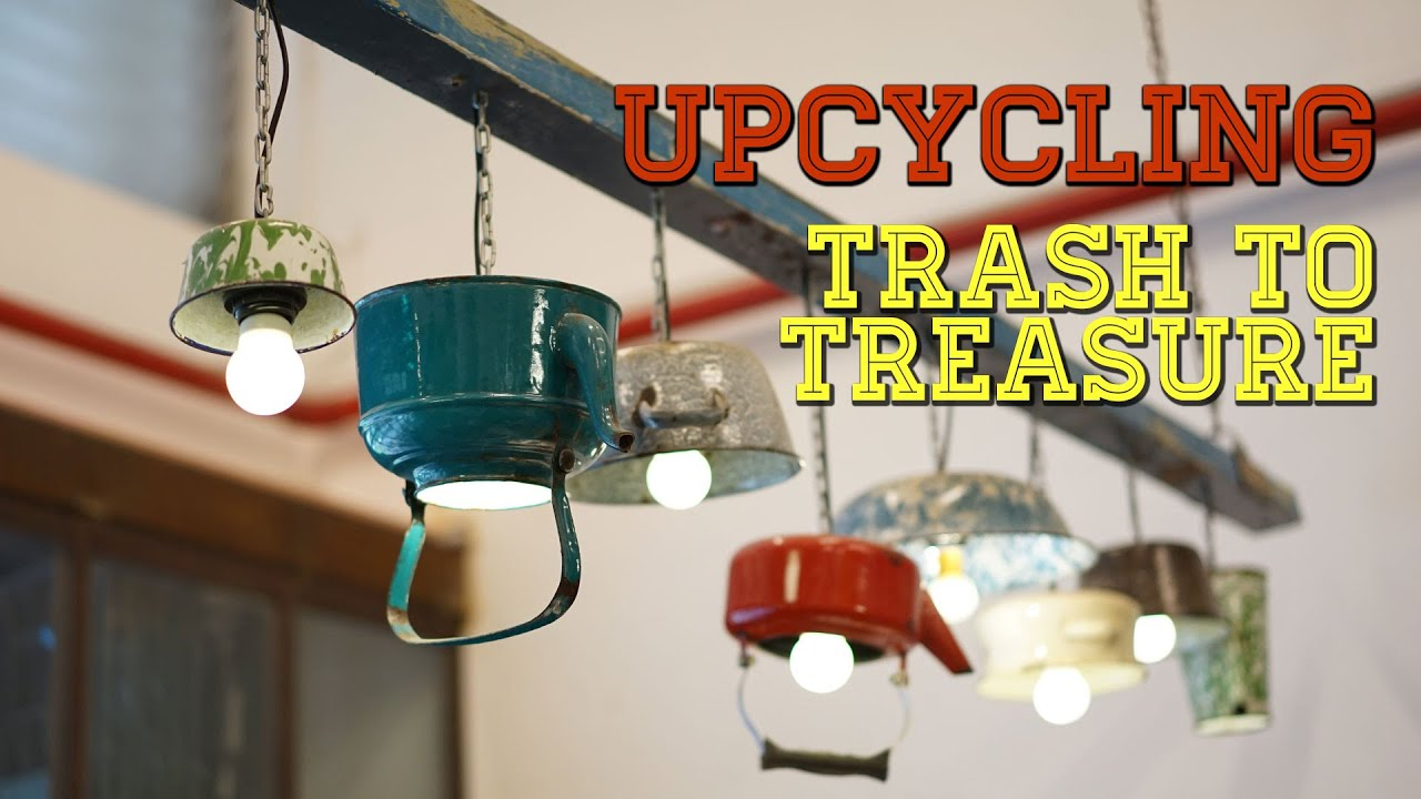 upcycling trash to treasure world environment day special