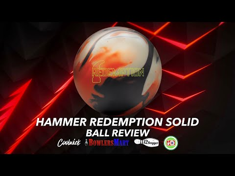 Hammer Redemption Solid Ball Review!  | A Bowling Ball For Heavy Oil That Hits Like A Truck!