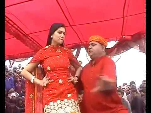 Sapna   Jhandu Live stage Dance on Patola